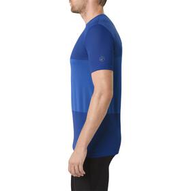 asics fuzeX Seamless Maglietta da corsa Uomo blu
